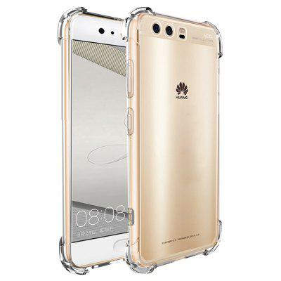 Shockproof Armor Clear Back Case for Huawei P10
