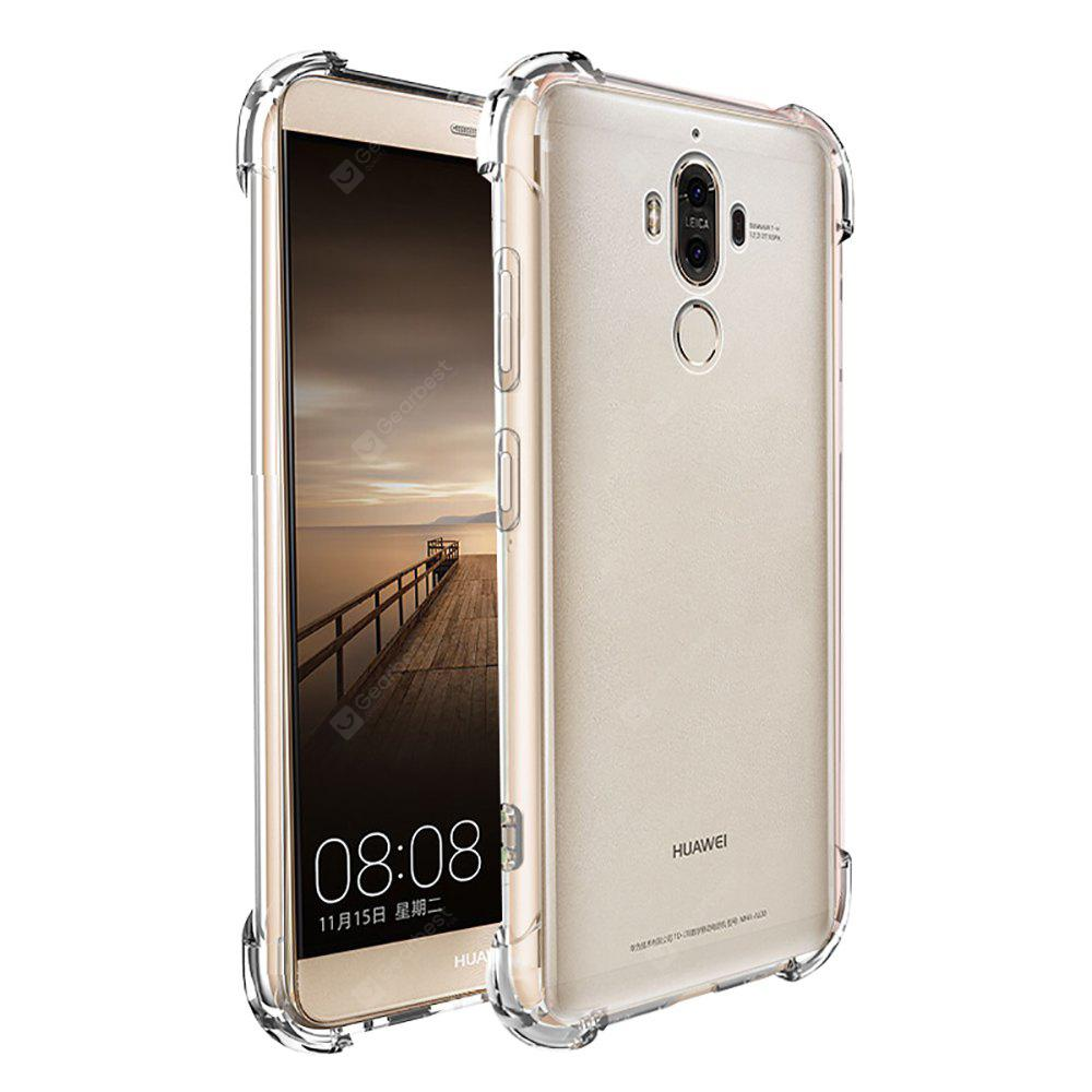 Shockproof Armor Clear Back Case for Huawei Mate 9
