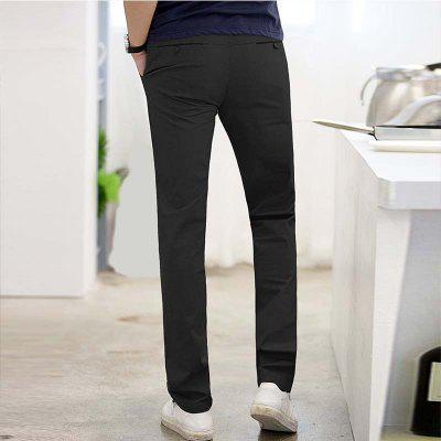 Baiyuan Trousers Business Casual Mens Slim Fit Suit Pants BlackMens Pants<br>Baiyuan Trousers Business Casual Mens Slim Fit Suit Pants Black<br><br>Closure Type: Zipper Fly<br>Color: Black<br>Elasticity: Micro-elastic<br>Embellishment: Button,Pockets,Zippers<br>Fabric Type: Broadcloth<br>Fit Type: Regular<br>Front Style: Pleated<br>Length: Normal<br>Material: Spandex, Cotton<br>Package Contents: 1 x Suit Pants<br>Package size (L x W x H): 30.00 x 20.00 x 5.00 cm / 11.81 x 7.87 x 1.97 inches<br>Package weight: 0.6000 kg<br>Pant Style: Straight<br>Pattern Type: Solid<br>Style: Formal<br>Thickness: Standard<br>Waist Type: Mid<br>Wash: Light<br>With Belt: No