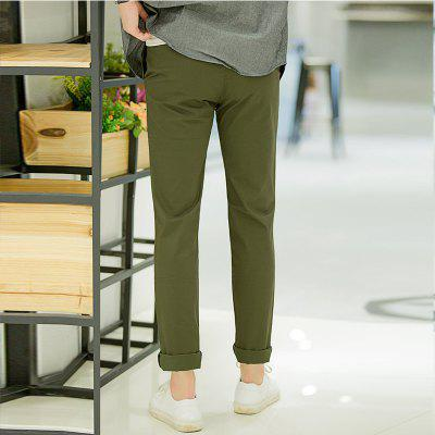 Baiyuan Trousers Casual Slim Fit Mens for Pants Army GreenMens Pants<br>Baiyuan Trousers Casual Slim Fit Mens for Pants Army Green<br><br>Closure Type: Zipper Fly<br>Color: Green<br>Elasticity: Micro-elastic<br>Embellishment: Button,Pockets,Zippers<br>Fabric Type: Twill<br>Fit Type: Skinny<br>Front Style: Flat<br>Length: Normal<br>Material: Cotton, Spandex<br>Package Contents: 1 x Pants<br>Package size (L x W x H): 1.00 x 1.00 x 1.00 cm / 0.39 x 0.39 x 0.39 inches<br>Package weight: 0.6000 kg<br>Pant Style: Straight<br>Pattern Type: Solid<br>Style: Casual<br>Thickness: Standard<br>Waist Type: Mid<br>With Belt: No