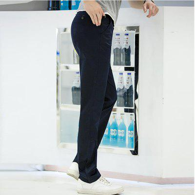 Baiyuan Trousers Casual Slim Fit Mens Pants Dark BlueMens Pants<br>Baiyuan Trousers Casual Slim Fit Mens Pants Dark Blue<br><br>Closure Type: Zipper Fly<br>Color: Royalblue<br>Elasticity: Micro-elastic<br>Embellishment: Button,Pockets,Zippers<br>Fabric Type: Broadcloth<br>Fit Type: Skinny<br>Front Style: Pleated<br>Length: Normal<br>Material: Cotton, Spandex<br>Package Contents: 1 x Pants<br>Package size (L x W x H): 30.00 x 20.00 x 5.00 cm / 11.81 x 7.87 x 1.97 inches<br>Package weight: 0.6000 kg<br>Pant Style: Straight<br>Pattern Type: Solid<br>Style: Casual<br>Thickness: Standard<br>Waist Type: Mid<br>With Belt: No
