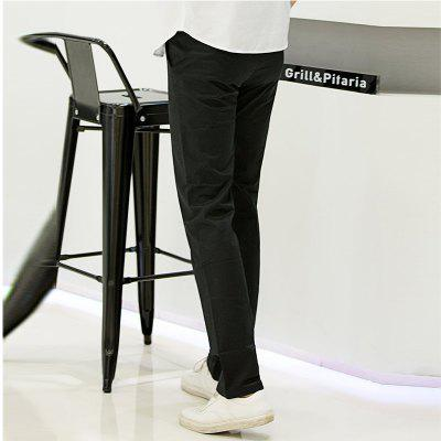 Baiyuan Trousers Casual Slim Fit Mens Pants BlackMens Pants<br>Baiyuan Trousers Casual Slim Fit Mens Pants Black<br><br>Closure Type: Zipper Fly<br>Color: Black<br>Elasticity: Micro-elastic<br>Embellishment: Pleated,Button,Pockets,Zippers<br>Fabric Type: Broadcloth<br>Fit Type: Regular<br>Front Style: Pleated<br>Length: Normal<br>Material: Cotton, Spandex<br>Package Contents: 1 x Pant<br>Package size (L x W x H): 30.00 x 20.00 x 5.00 cm / 11.81 x 7.87 x 1.97 inches<br>Package weight: 0.6000 kg<br>Pant Style: Straight<br>Pattern Type: Solid<br>Style: Casual<br>Thickness: Thin<br>Waist Type: Mid<br>With Belt: No
