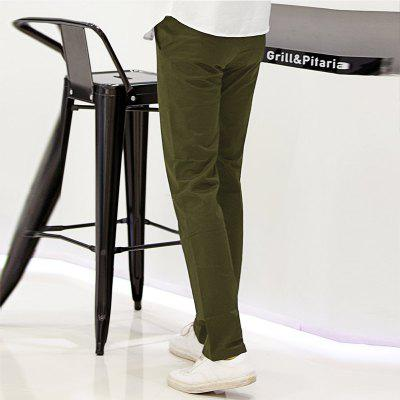 Baiyuan Trousers Casual Slim Fit Mens Pants Army GreenMens Pants<br>Baiyuan Trousers Casual Slim Fit Mens Pants Army Green<br><br>Closure Type: Zipper Fly<br>Color: Green<br>Elasticity: Micro-elastic<br>Embellishment: Button,Pockets,Zippers<br>Fabric Type: Broadcloth<br>Fit Type: Straight<br>Front Style: Pleated<br>Length: Normal<br>Material: Cotton, Spandex<br>Package Contents: 1 x Pants<br>Package size (L x W x H): 30.00 x 20.00 x 5.00 cm / 11.81 x 7.87 x 1.97 inches<br>Package weight: 0.6000 kg<br>Pant Style: Straight<br>Pattern Type: Solid<br>Style: Casual<br>Thickness: Standard<br>Waist Type: Mid<br>With Belt: No