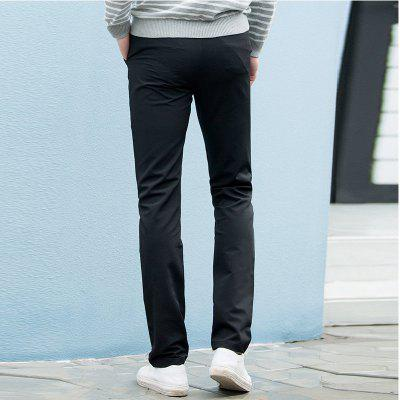 Baiyuan Trousers Autumn Casual Slim Fit for Man Long Pants BlackMens Pants<br>Baiyuan Trousers Autumn Casual Slim Fit for Man Long Pants Black<br><br>Closure Type: Zipper Fly<br>Color: Black<br>Elasticity: Micro-elastic<br>Embellishment: Button,Pockets,Zippers<br>Fabric Type: Broadcloth<br>Fit Type: Straight<br>Front Style: Pleated<br>Length: Normal<br>Material: Spandex, Polyester, Nylon<br>Package Contents: 1 x Pants<br>Package size (L x W x H): 30.00 x 20.00 x 5.00 cm / 11.81 x 7.87 x 1.97 inches<br>Package weight: 0.6000 kg<br>Pant Style: Straight<br>Pattern Type: Solid<br>Style: Casual<br>Thickness: Standard<br>Waist Type: Mid<br>With Belt: No