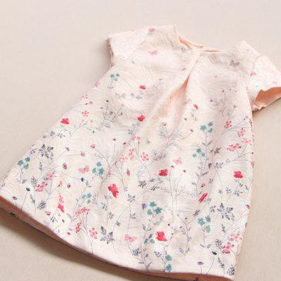 Girl Dress Childrens Wear 2017 Spring light Foundation Prints Round Neck Short Sleeve DressGirls Clothing<br>Girl Dress Childrens Wear 2017 Spring light Foundation Prints Round Neck Short Sleeve Dress<br><br>Dresses Length: Mini<br>Elasticity: Elastic<br>Material: Cotton, Faux Fur<br>Neckline: Round Collar<br>Package Contents: 1xDress<br>Pattern Type: Floral<br>Season: Spring, Fall<br>Silhouette: Straight<br>Sleeve Length: Short Sleeves<br>Style: Fresh Style<br>Waist: Natural<br>Weight: 0.5000kg<br>With Belt: No