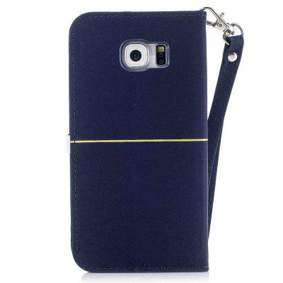 Gold Velvet Plum Blossom Head Pu Phone Case for Samsung Galaxy S6Samsung S Series<br>Gold Velvet Plum Blossom Head Pu Phone Case for Samsung Galaxy S6<br><br>Features: Full Body Cases, Cases with Stand, With Credit Card Holder, With Lanyard, Dirt-resistant<br>For: Samsung Mobile Phone<br>Functions: Camera Hole Location<br>Material: PU Leather<br>Package Contents: 1 x Phone Case<br>Package size (L x W x H): 14.60 x 7.60 x 1.50 cm / 5.75 x 2.99 x 0.59 inches<br>Package weight: 0.0690 kg<br>Style: Solid Color, Novelty<br>Using Conditions: Skiing,Cruise