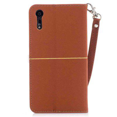 Gold Velvet Plum Blossom Head Pu Phone Case for Sony XzCases &amp; Leather<br>Gold Velvet Plum Blossom Head Pu Phone Case for Sony Xz<br><br>Features: Full Body Cases, Cases with Stand, With Credit Card Holder, With Lanyard, Dirt-resistant<br>Mainly Compatible with: Sony<br>Material: TPU, PU Leather<br>Package Contents: 1 x Phone Case<br>Package size (L x W x H): 14.60 x 7.10 x 1.40 cm / 5.75 x 2.8 x 0.55 inches<br>Package weight: 0.0680 kg<br>Style: Novelty, Solid Color