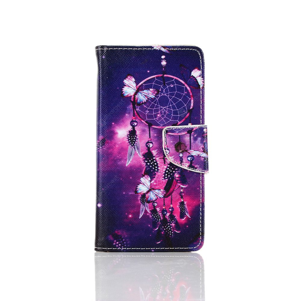 Knife and Draw Painted PU Phone Case for Samsung Galaxy A3 2016