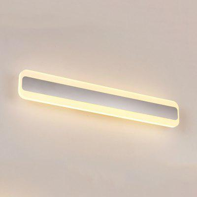 Brightness 50cm 16W Modern Brief LED Mirror Lamp Bathroom Lights 85 - 265V Stainless + Acrylic Wall Make-up Lighting