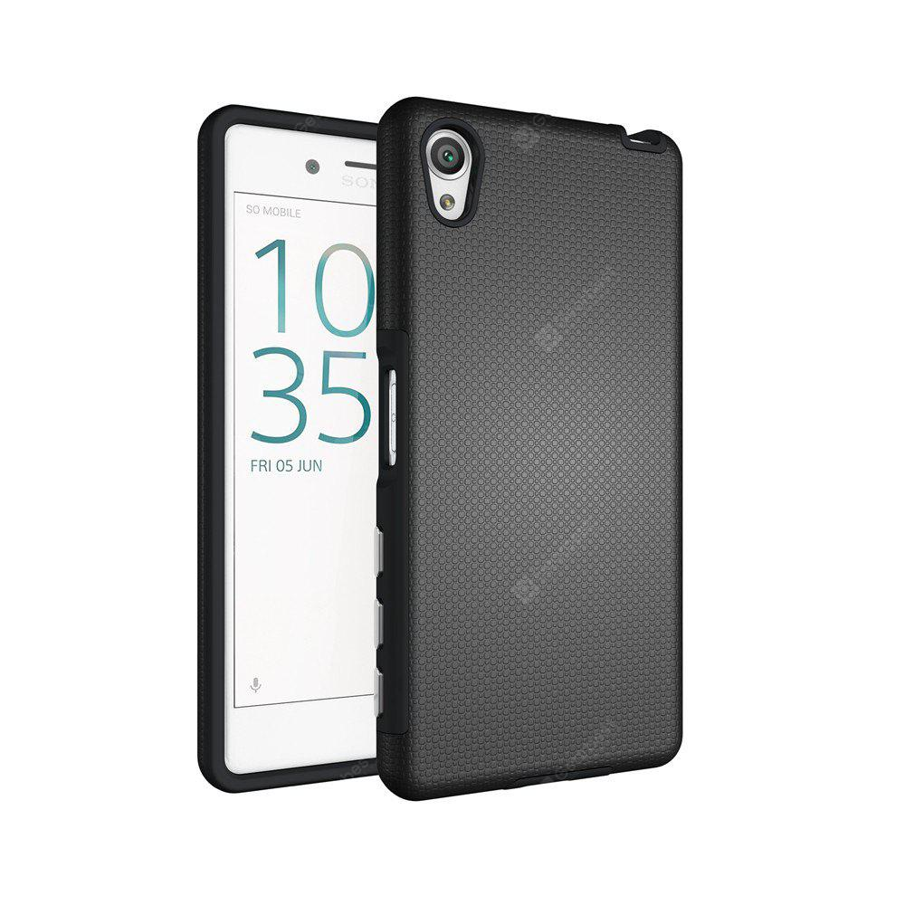 Non-slip Surface Shockproof Back PC Case for Sony Xperia X