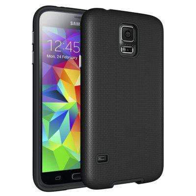 Non-slip Surface Shockproof Back PC Case for Samsung Galaxy S5