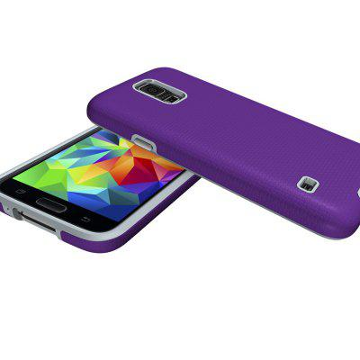 Non-slip Surface Shockproof Back PC Case for Samsung Galaxy S5Samsung S Series<br>Non-slip Surface Shockproof Back PC Case for Samsung Galaxy S5<br><br>Features: Anti-knock<br>Material: PC<br>Package Contents: 1 x Shockproof Back Case<br>Package size (L x W x H): 10.00 x 10.00 x 5.00 cm / 3.94 x 3.94 x 1.97 inches<br>Package weight: 0.0500 kg<br>Product weight: 0.0300 kg<br>Style: Solid Color
