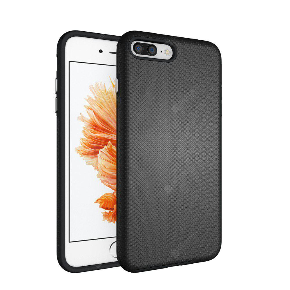 Non-slip Surface Shockproof Back PC Case for iPhone 7 Plus