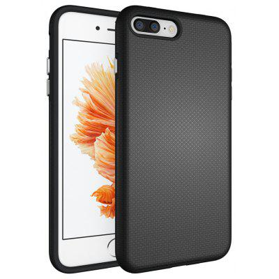 Non-slip Surface Shockproof Back PC Case for iPhone 8 Plus