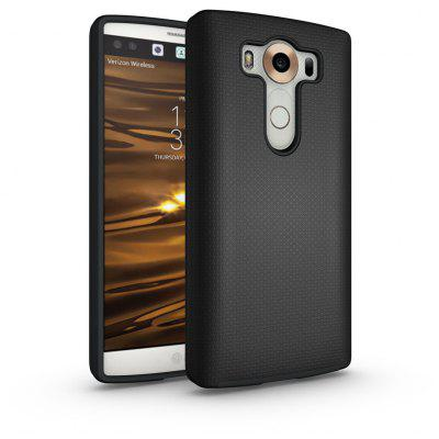 Non-slip Surface Shockproof Back PC Case for LG V10