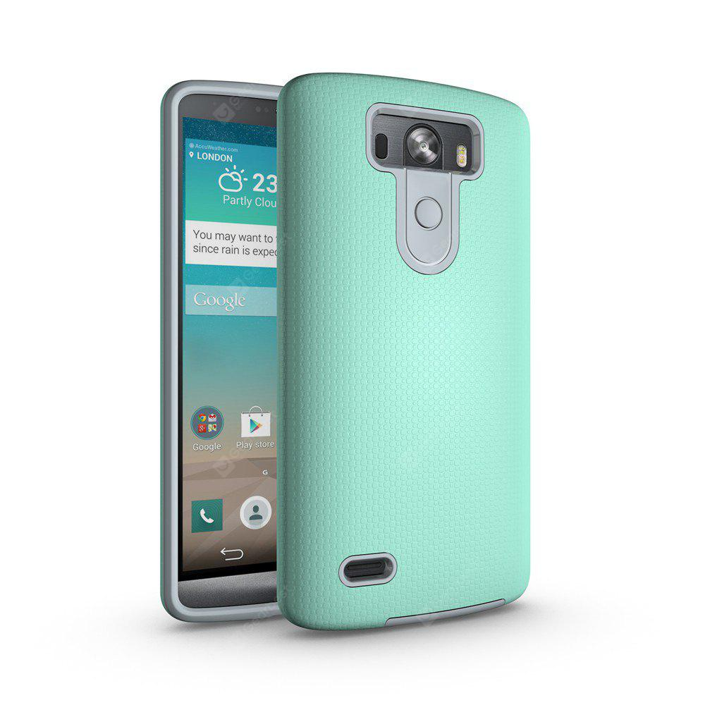 Non-slip Surface Shockproof Back PC Case for LG G3