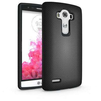 Non-slip Surface Shockproof Back PC Case for LG G4