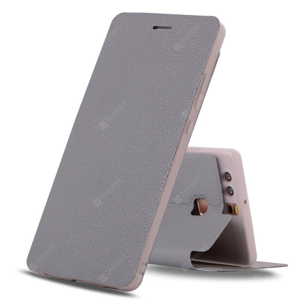 Colourful Textured Ultra-Slim Flip PU Leather Case for Huawei P9 Plus