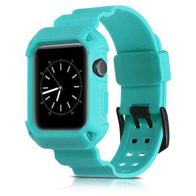 2 In 1 Tpu 38MM Sport Uhrenarmband für Apple Watch Series 1/2