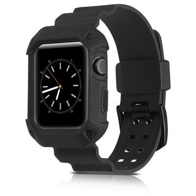 2 In 1 Tpu 38MM Sport Watch Band for Apple Watch Series 1 / 2