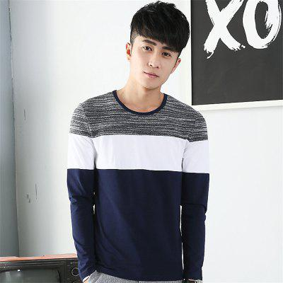 Mens Trend Products Hit Color Round Neck Long Sleeve T-ShirtMens T-shirts<br>Mens Trend Products Hit Color Round Neck Long Sleeve T-Shirt<br><br>Collar: Round Neck<br>Material: Cotton<br>Package Contents: 1 x T-Shirt<br>Pattern Type: Others<br>Sleeve Length: Full<br>Style: Casual<br>Weight: 0.2000kg