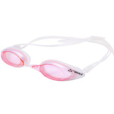 Buy PINK Whale Comfortable Silicone Large Frame Swim Glasses Swimming Goggles Anti-Fog UV Men Women Swim Mask Waterproof Professional for $11.43 in GearBest store