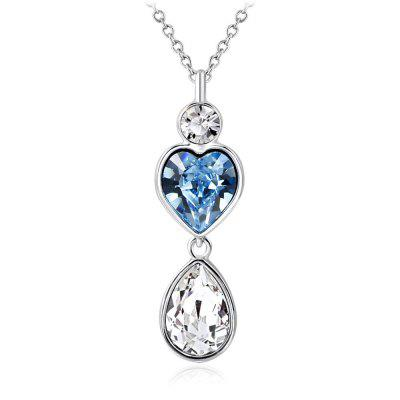 Amulet Teardrop Necklace Fashion Noble Hand Glued Jewelry Gift for Girls