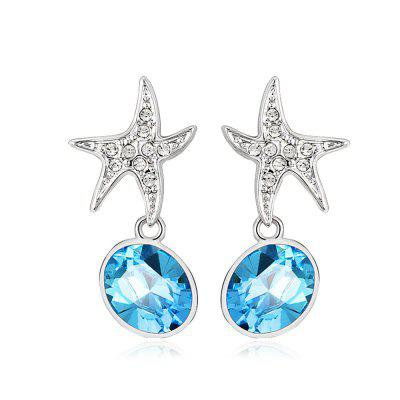 Buy Ouxi Sterling Silver Blue Crystal Starfish Earrings for Girls And Womens, SILVER AND BLUE, Watches & Jewelry, Fashion Jewelry, Earrings for $17.27 in GearBest store