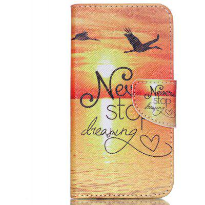 Knife and Draw Painted PU Phone Case for Samsung Galaxy J5