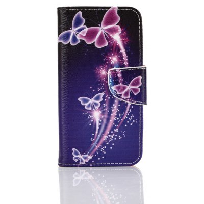 Buy COLORMIX Purple Butterfly Knife and Cut Color Phone Case for Samsung Galaxy S7 Edge for $5.08 in GearBest store