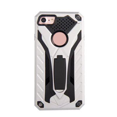 Wkae Dual Layer Hybrid Armor Protective Cover Case with Kickstand for iPhone 7 / 8iPhone Cases/Covers<br>Wkae Dual Layer Hybrid Armor Protective Cover Case with Kickstand for iPhone 7 / 8<br><br>Compatible for Apple: iPhone 7, iPhone 8<br>Features: Back Cover, Cases with Stand, Anti-knock<br>Material: PC, TPU<br>Package Contents: 1 x Phone Case<br>Package size (L x W x H): 20.00 x 15.00 x 2.00 cm / 7.87 x 5.91 x 0.79 inches<br>Package weight: 0.1000 kg<br>Style: Novelty, Cool