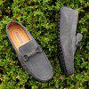 The Fall of New Shoes Slip-On Doug Foot Soft Bottom Shoes Doug Comfortable Leather Men'S Shoes - OYSTER