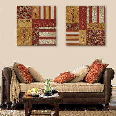 Yc Special Design Frameless Paintings Good Wishes of 2