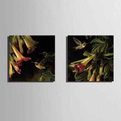 Yc Special Design Frameless Paintings Flowers And Birds of 2Prints<br>Yc Special Design Frameless Paintings Flowers And Birds of 2<br><br>Craft: Print<br>Form: Two Panels<br>Material: Canvas<br>Package Contents: 2 x Print<br>Package size (L x W x H): 65.00 x 65.00 x 2.00 cm / 25.59 x 25.59 x 0.79 inches<br>Package weight: 0.8800 kg<br>Painting: Include Inner Frame<br>Shape: Horizontal Panoramic<br>Style: Vintage, Fashion, Novelty, Formal, Casual, Active<br>Subjects: Botanical<br>Suitable Space: Indoor,Garden,Living Room,Bathroom,Bedroom,Dining Room,Office,Hotel,Cafes,Kids Room,Kids Room,Study Room / Office,Boys Room,Girls Room,Game Room