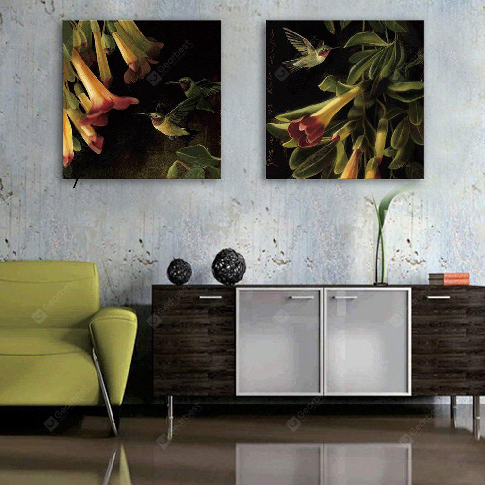 Yc Special Design Frameless Paintings Flowers And Birds of 2