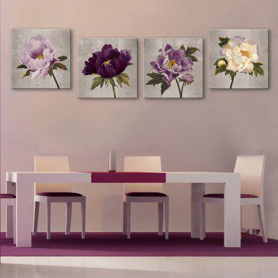 Yc Special Design Frameless Paintings Peony