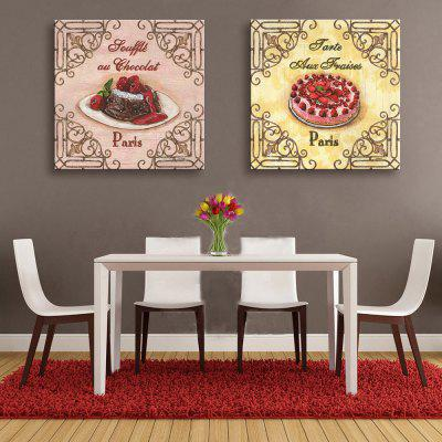 Yc Special Design Frameless Paintings Cake of 2