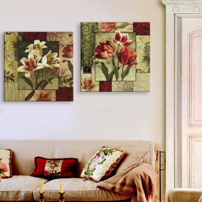Yc Special Design Frameless Paintings Lilium of 2