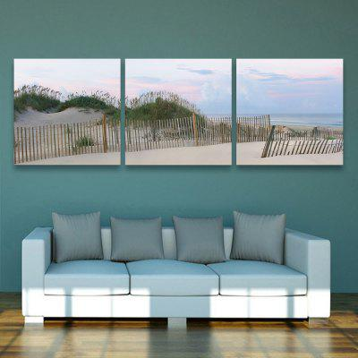 Yc Special Design Frameless Paintings Silver Coast of 3