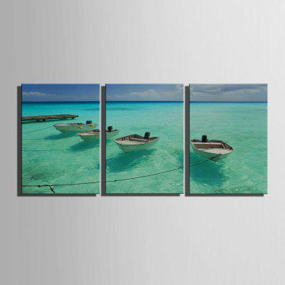 Yc Special Design Frameless Paintings The Boat And The Sea of 3Prints<br>Yc Special Design Frameless Paintings The Boat And The Sea of 3<br><br>Craft: Print<br>Form: Three Panels<br>Material: Canvas<br>Package Contents: 3 x Print<br>Package size (L x W x H): 28.00 x 38.00 x 2.00 cm / 11.02 x 14.96 x 0.79 inches<br>Package weight: 1.2200 kg<br>Painting: Include Inner Frame<br>Shape: Horizontal Panoramic<br>Style: Vintage, Fashion, Novelty, Formal, Casual, Active<br>Subjects: Landscape<br>Suitable Space: Garden,Living Room,Bathroom,Bedroom,Dining Room,Office,Hotel,Cafes,Kids Room,Kids Room,Study Room / Office,Boys Room,Girls Room,Game Room