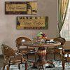 Yc Special Design Frameless Paintings Prized Wine of 2 - BROWN