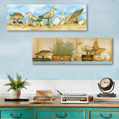 yc Special Design Frameless Paintings The Dove And The Sea of 2