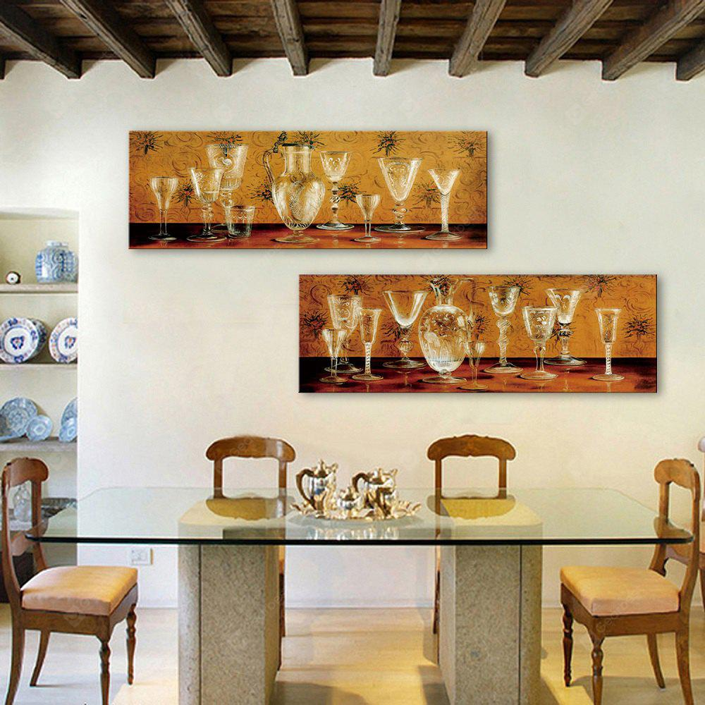 Yc Special Design Frameless Paintings Glass of 2