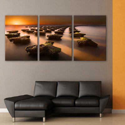 Yc Special Design Frameless Paintings Stone Road of 3