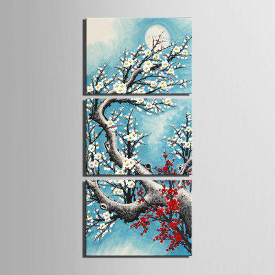 Yc Special Design Frameless Paintings Plum In Cold of 3Prints<br>Yc Special Design Frameless Paintings Plum In Cold of 3<br><br>Craft: Print<br>Form: Three Panels<br>Material: Canvas<br>Package Contents: 3 x Print<br>Package size (L x W x H): 45.00 x 30.00 x 2.00 cm / 17.72 x 11.81 x 0.79 inches<br>Package weight: 1.2400 kg<br>Painting: Include Inner Frame<br>Shape: Horizontal Panoramic<br>Style: Vintage, Fashion, Novelty, Casual, Formal<br>Subjects: Flower<br>Suitable Space: Indoor,Garden,Living Room,Bathroom,Bedroom,Dining Room,Office,Hotel,Cafes,Kids Room,Kids Room,Study Room / Office,Boys Room,Girls Room,Game Room