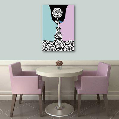 Yc Special Design Frameless Paintings Creative Roses of 1