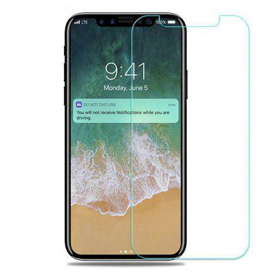 Szkinston 9H Smooth Wearable Touch High-Transparent Unlimited Nano-Technology Forming Silk Tempered Glass Screen Protector Film for Iphone x