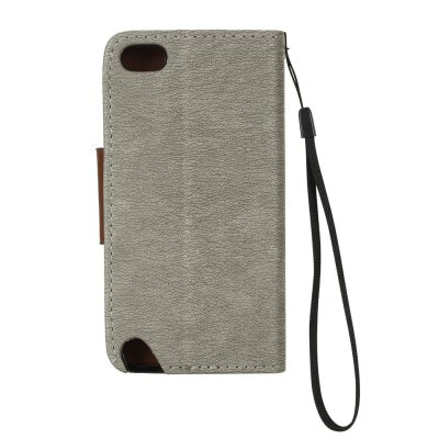 Hit Color PU Phone Case for Ipod touch 5 / 6iPod Skin Stickers<br>Hit Color PU Phone Case for Ipod touch 5 / 6<br><br>Features: Cases with Stand, With Credit Card Holder, With Lanyard, Dirt-resistant, Wallet Case<br>Material: TPU, PU Leather<br>Package Contents: 1 x Phone Case<br>Package size (L x W x H): 12.50 x 5.90 x 1.00 cm / 4.92 x 2.32 x 0.39 inches<br>Package weight: 0.0460 kg<br>Style: Novelty