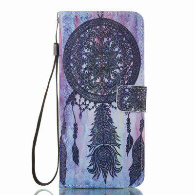 Black Wind Chimes Painted PU Phone Case for Samsung Galaxy S8 Plus