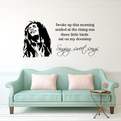 DSU Bob - 7 Art Wall Sticker for Indoor Decration